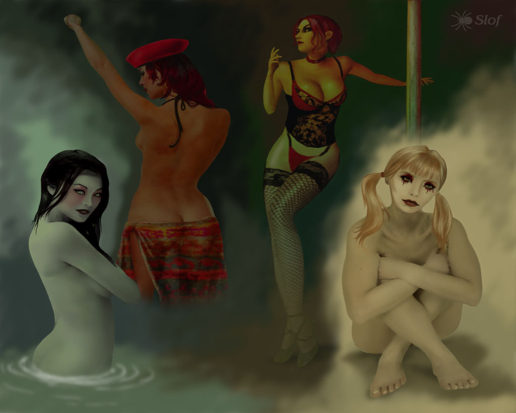 bloodlines vampire masquerade nudity the D&d