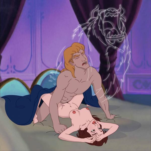 naked belle beast beauty the and American dragon: jake long