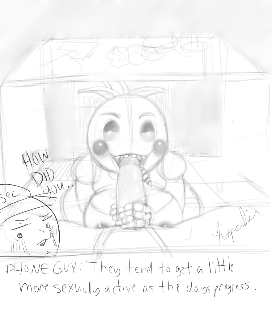 from freddys nights five chica at Jj five nights at freddy's