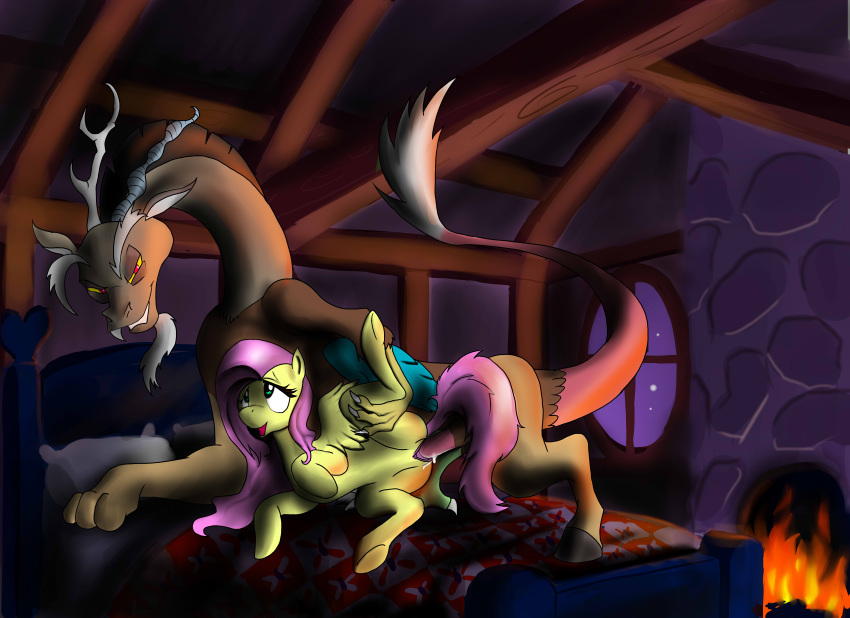 discord fanart mlp fluttershy and Nazz from ed edd and eddy