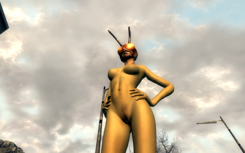 nude mod 4 glorious fallout female Conker's bad fur day flower
