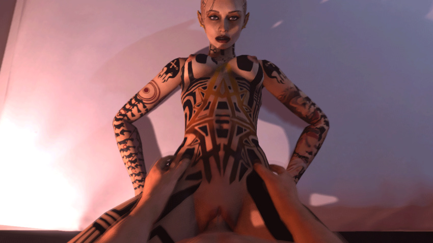 lemon mass and fanfiction shepard effect tali Stopping 11 the calamity of time stop