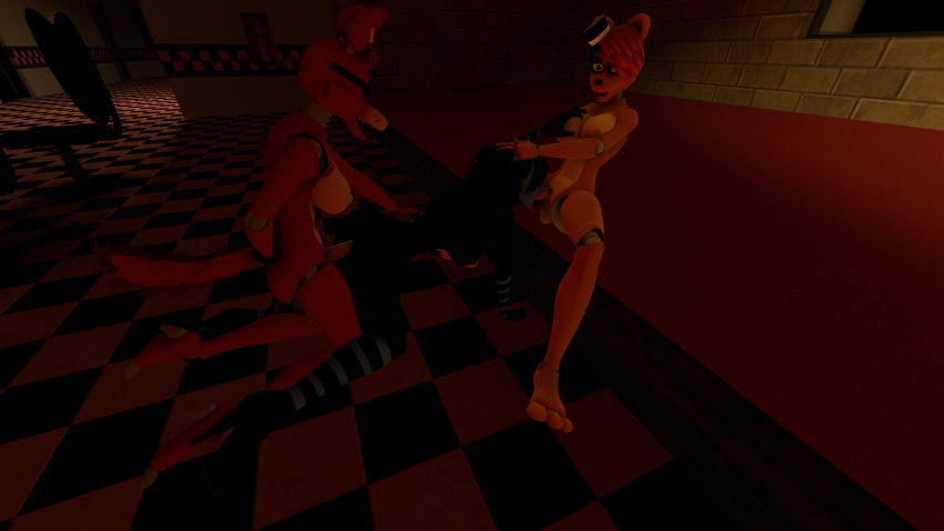 freddy's 3d at porn nights five Frantic, frustrated & female
