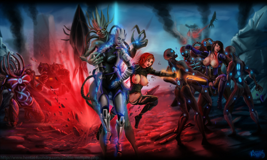 vetra andromeda effect mass nude Dead or alive characters girl